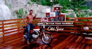 "Proctor and Gamble's Old Spice ads, ""Smell better than yourself"", are entertaining and firmly tongue-in-cheek. After all, it's not brain surgery, it's just deodorant. So they do the best they can with the somewhat retro brand they have - and it's pretty funny and nicely produced. Well done, agency Wieden + Kennedy."