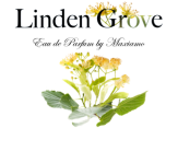 The Linden Grove logo as applied to a bottle