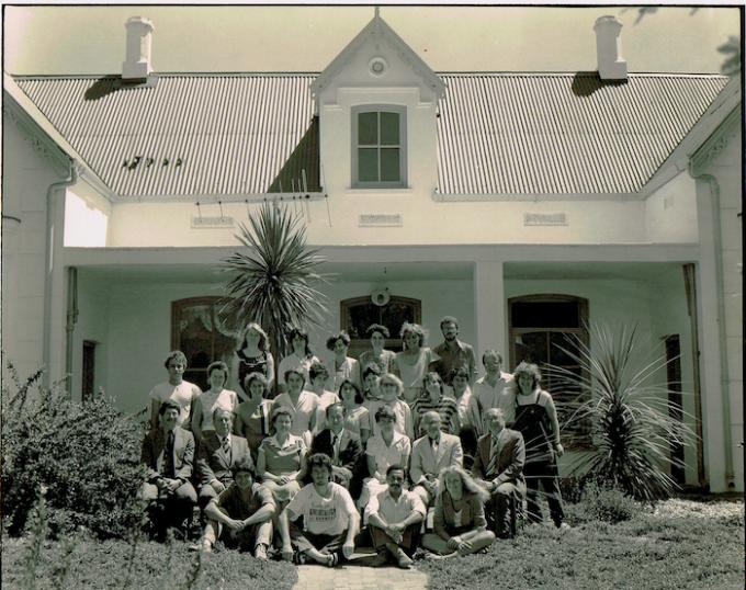 A bunch of radicals: Class of 1985/1985 - Department of Journalism, Stellenbosch University.