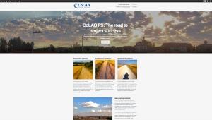 CoLAB PS website on wordpress
