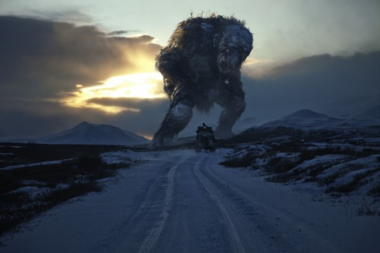"Troll from the film ""Trollhunter"". In case you wonder if they are real, watch the film to see a real-life press conference and the former Norwegian Prime Minister Jens Stoltenberg mentioning trolls..."