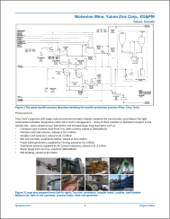 Page 3 of standard project profile - in this instance, Engineering Design and Procurement for Wolverine Mine.