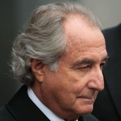 Bernard Madoff - remember him? Bernie Madoff is presumably the most famous Ponzi schemer, other than Ponzi himself, operating the largest fraud in US history. Madoff stole $65 billion from investors and committed over 11 federal felonies.