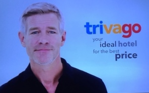 1. Here is the handsome Trivago.ca man, Tim Williams, these days decidedly more natty-looking than in the beginning of this campaign.