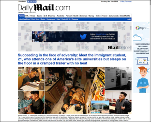 3 Daily Mail U.S.A. edition, DailyMail.com, home page