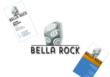 Concept logo - 2 of 5 for Bella Rock Stone Supply