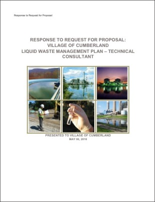 Cumberland WWTP cover