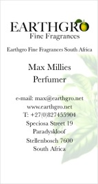 Earthgro business card