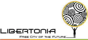 Logo for conceptual free trade city
