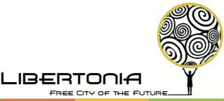 Logo for conceptual free trade city