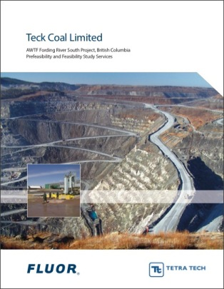 Teck Coal Fording River proposal cover