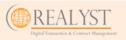 Current version of Realyst logo on website (Not by Red Pennant, rtrvd. 02-04-2020)